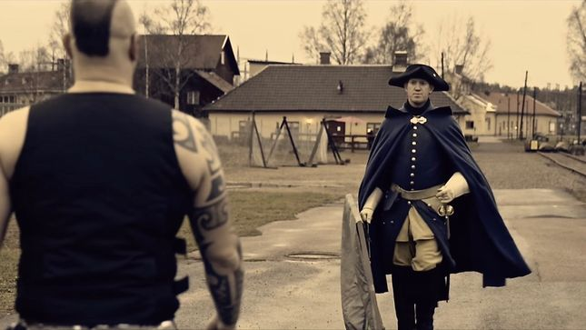 SABATON Receive A Special Delivery From CAROLUS REX; Video