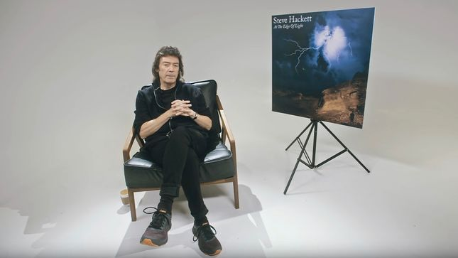 "STEVE HACKETT Releases Track Discussion Video For ""Under The Eye Of The Sun"""