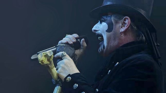 "KING DIAMOND - Songs For The Dead Live DVD / Blu-Ray To Arrive In January; ""Sleepless Nights"" (Live At The Fillmore) Video Streaming"
