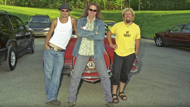 "SAMMY HAGAR's Fractured Rock & Roll Photos Episode #21: ""KID ROCK & TED NUGENT In Detroit""; Video"