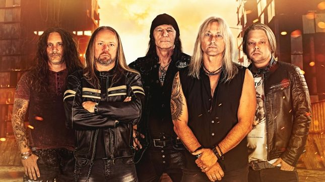 "HERMAN FRANK - Former ACCEPT Guitarist Debuts ""Hail & Row"" Lyric Video"