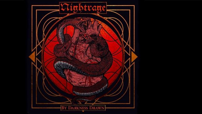 "NIGHTRAGE Release ""By Darkness Drawn"" Single; Audio Streaming"