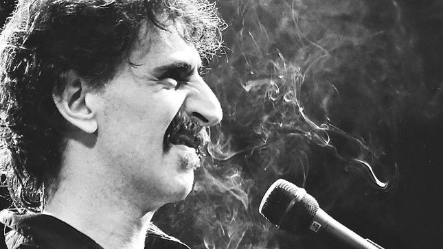 FRANK ZAPPA - Limited Edition Book Documenting Late Rock Legend's Last Tour Due In March