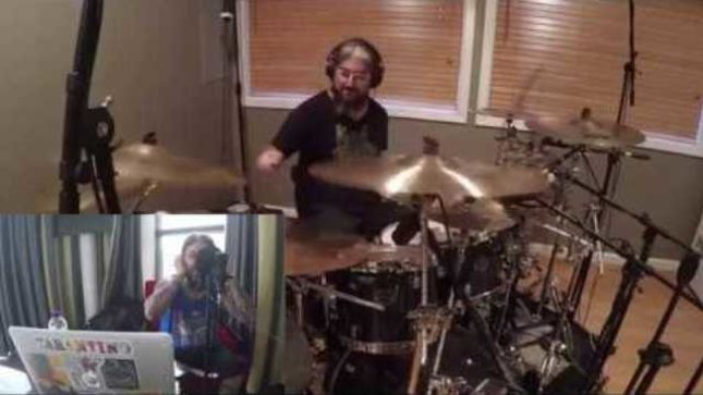 "MIKE PORTNOY Posts Studio Drum Cam Footage Of THE NEAL MORSE BAND's Recording Session For ""Welcome To The World"""