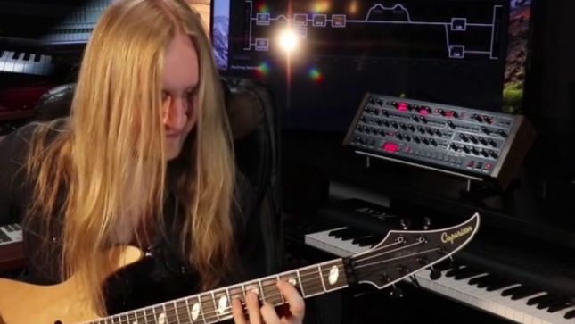 KOBRA AND THE LOTUS - Guitar Tracking For New Album Underway (Video)
