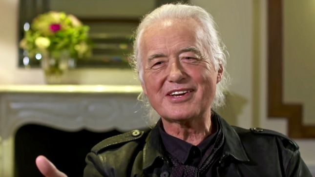 JIMMY PAGE Talks LED ZEPPELIN's 50th Anniversary, Possibility Of Solo Material In 2019 (Audio)