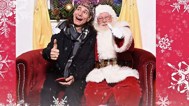 "STEVE VAI Offers Holiday Greetings; ""Christmas Time Is Here"" Track Streaming"