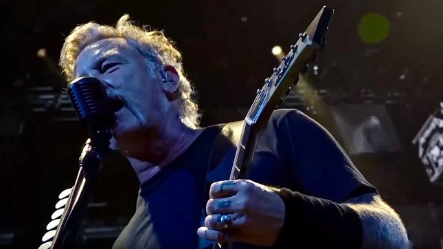 "METALLICA - Pro-Shot Video Of ""The Shortest Straw"" Live In Sacramento Posted"