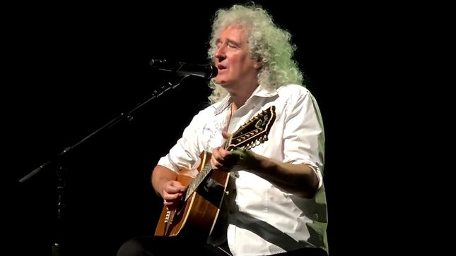 "BRIAN MAY's ""New Horizons"" Solo Single Set For New Year's Day Premier; ""You Know, I Don't Know If Anyone's Going To Like It Yet,"" Says QUEEN Guitarist"