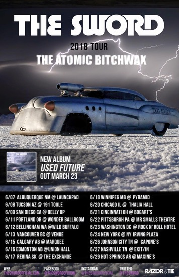 THE ATOMIC BITCHWAX Announce North American Tour With THE