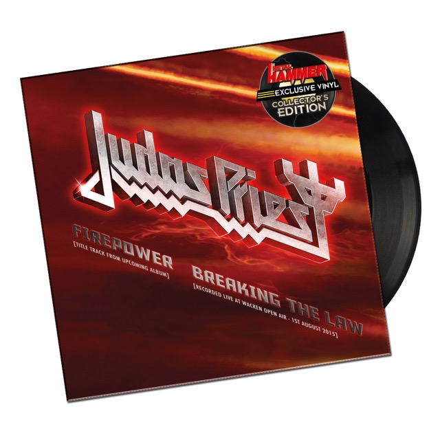 Judas priest exclusive firepower 7 bundled with march for Coliseum motor company casper wy