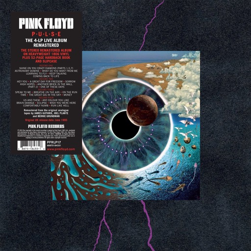 Pink Floyd Live Album Pulse To Be Re Released On 180g