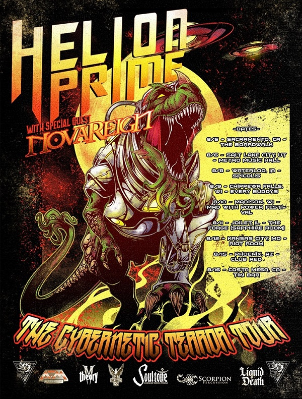Novareign Announce Summer Tour With Helion Prime