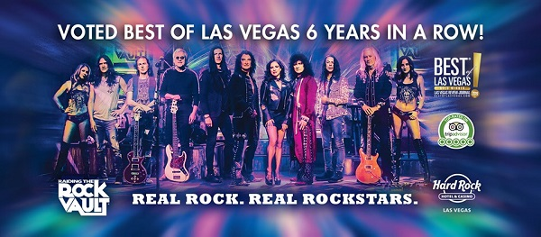 Best Shows In Vegas 2020.Raiding The Rock Vault Voted Best Of Las Vegas Six Years In
