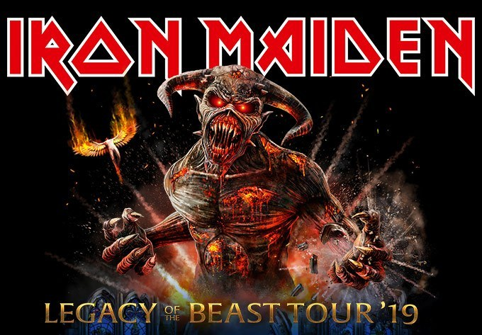 Legacy of the beast tour setlist