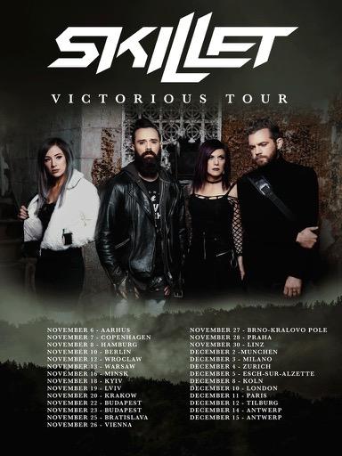 SKILLET Announce European Headline Tour - Bravewords com