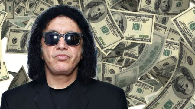 "GENE SIMMONS On His #1 Financial Priority - ""Me; If I Cannot Support Myself, Then I Cannot Help Anyone Else"""