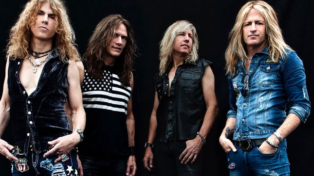 "BURNING RAIN Featuring DOUG ALDRICH, KEITH ST. JOHN To Release Face The Music Album In March; ""Midnight Train"" Music Video Streaming"