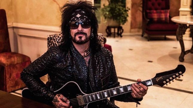 "MÖTLEY CRÜE's NIKKI SIXX – ""We Didn't Play By The Rules, And That's A Cool Place To Be"""