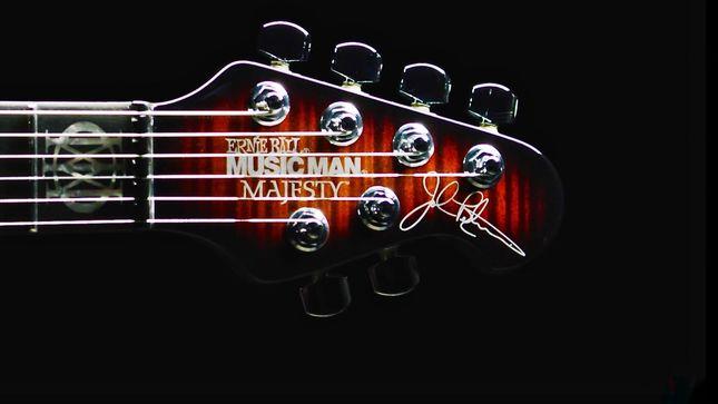 DREAM THEATER Guitarist JOHN PETRUCCI - Ernie Ball To ...