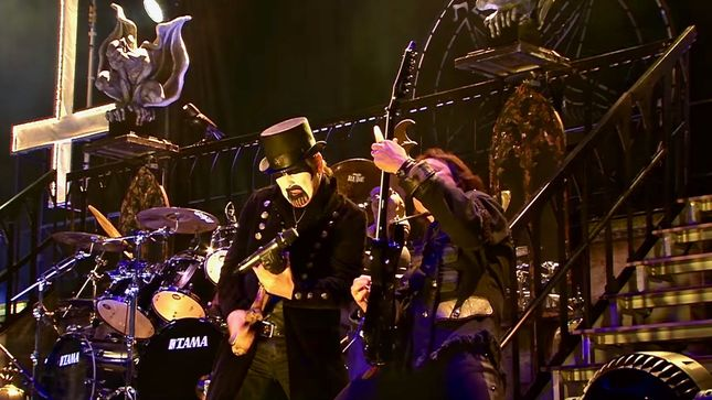 "KING DIAMOND Premiers ""Sleepless Nights"" (Live At Graspop) Video From Upcoming Songs For The Dead Live DVD / Blu-Ray"