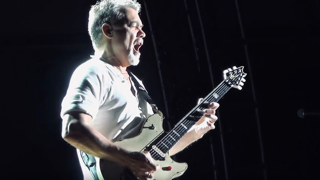 EDDIE VAN HALEN - Doctor Refutes Guitar Hero's Suggestion That Sucking On Guitar Picks Caused Cancer