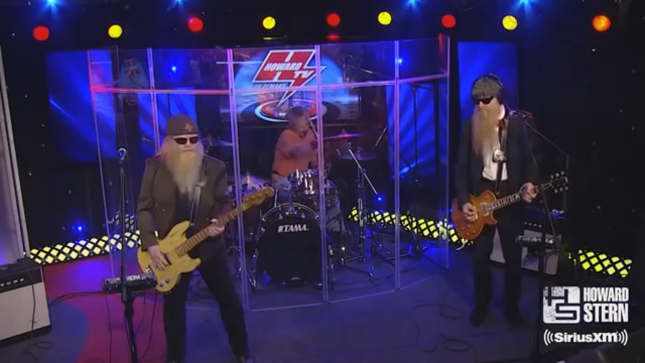 ZZ TOP - The Howard Stern Show Posts 2013 Video Of Extended