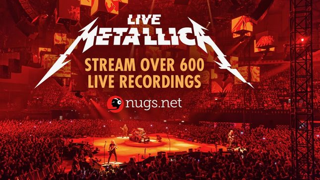 METALLICA Stream Over 600 Live Shows; 30-Day Free Trial Available