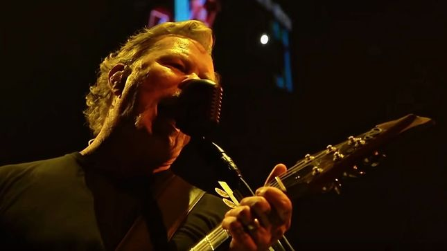 METALLICA Uploads HQ Video Of