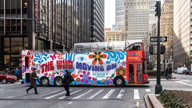 THE WHO Launch Series Of Magic Bus Pop-Ups