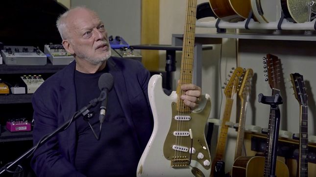 PINK FLOYD Legend DAVID GILMOUR Launches Podcast Series; Episode #1: The Black Strat Streaming