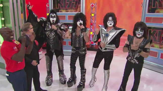 KISS To Appear On The Price Is Right On Monday; Preview Video Streaming