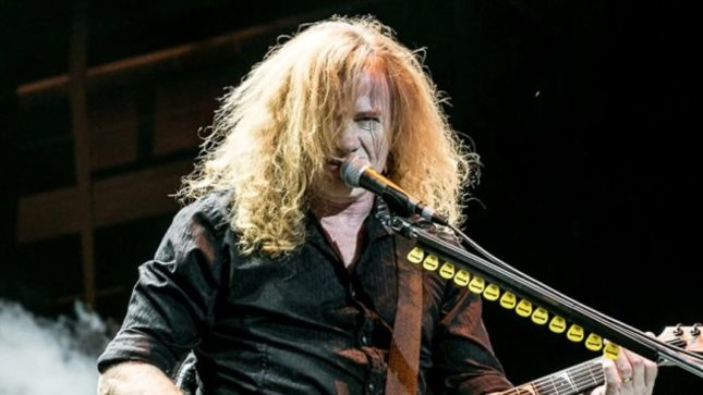 MEGADETH – DAVE MUSTAINE Names His Top Three Vinyl Albums