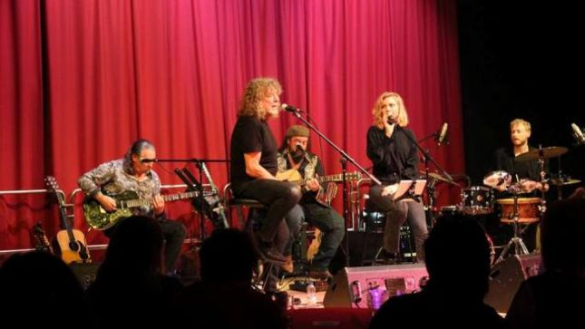 "ROBERT PLANT Performs With New Band SAVING GRACE; Upcoming ""Secret Gig"" In  Bath, UK Rumoured"