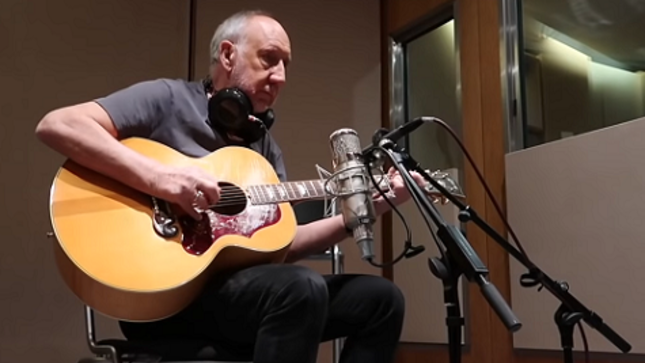 THE WHO - Guitarist PETE TOWNSHEND Launches New Album Vlog