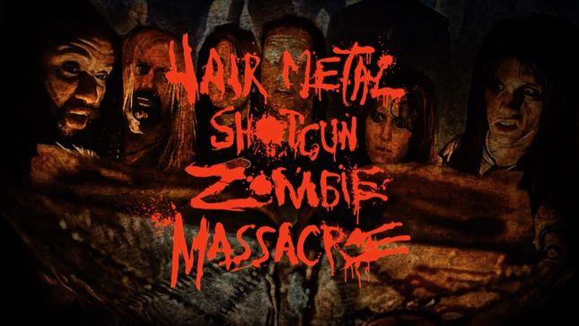 hairmetal shotgun zombie massacre the movie