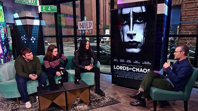 Director JONAS ÅKERLUND, Actors RORY CULKIN & EMORY COHEN Discuss MAYHEM Biopic Lords Of Chaos; Video