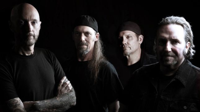 SACRED REICH Begin Recording New Album; Video Of DAVE McCLAIN Laying Down Drum Tracks Posted