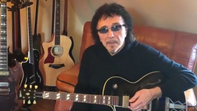 "TONY IOMMI On Remixing BLACK SABBATH's Forbidden Album - ""I'm Taking My Time; It Will Be Done When Its Done"""