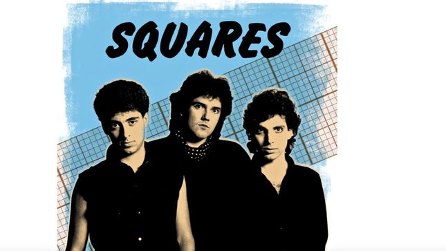 "JOE SATRIANI's 80s Band THE SQUARES Streaming ""Never Let It Get You Down"" Song"