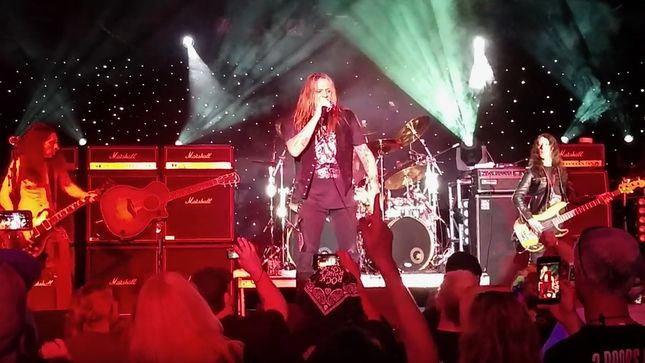 "SEBASTIAN BACH Performs SKID ROW Classic ""I Remember You"" On Rock Legends Cruise VII; Video"
