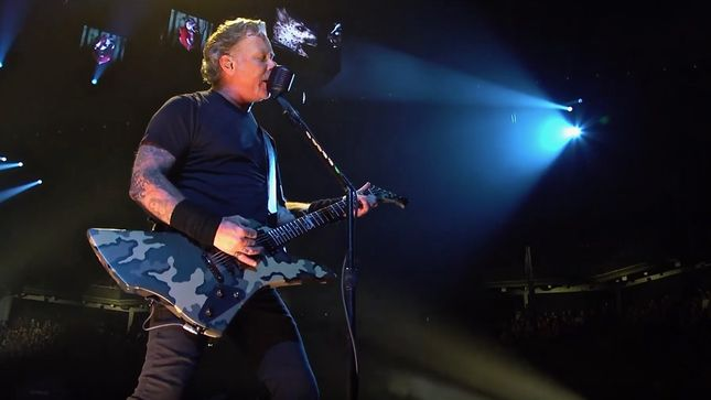 METALLICA Set Record For One-Night Concert Crowd At Bankers Life