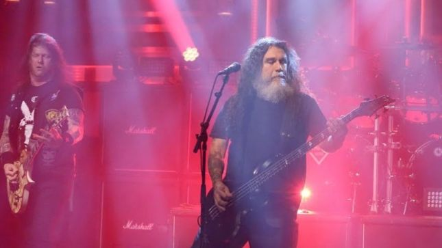 SLAYER - Christchurch Show Cancelled In The Wake Of Mosque Shootings