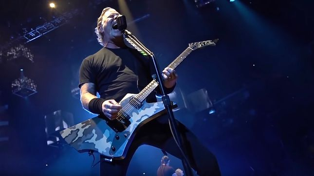 "METALLICA Performs ""Phantom Lord"" In Grand Rapids, ""Fight Fire With Fire"" In Indianapolis; HQ Video Streaming"
