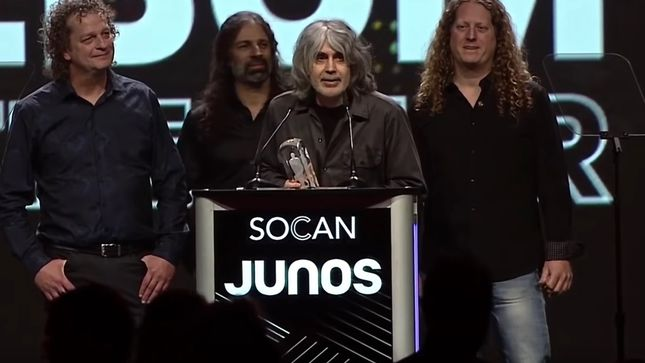 "VOIVOD's Michel ""Away"" Langevin - ""We Are Still Floating From Winning Our Very First JUNO"" (Video); European Tour Dates Announced"
