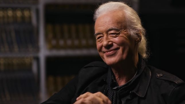 JIMMY PAGE Reflects On LED ZEPPELIN I Album -