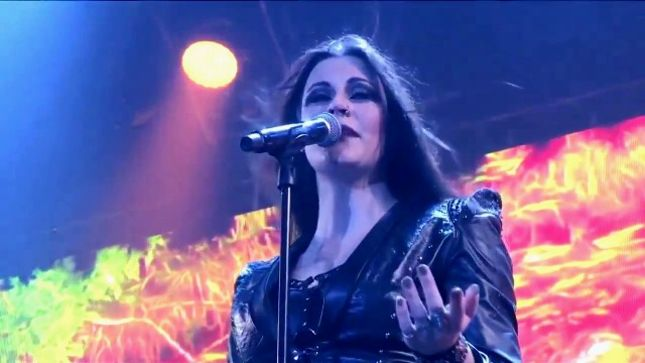 NIGHTWISH Vocalist FLOOR JANSEN Joins Dutch TV Show The Best