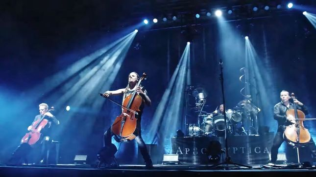 APOCALYPTICA Launch Video Trailer For Upcoming US Tour