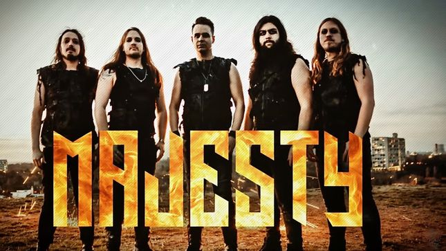 "MAJESTY Release New Song ""Wasteland Outlaw""; Music Video Streaming"