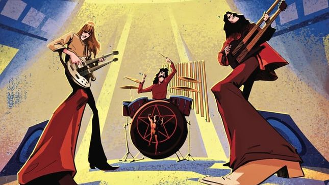 RUSH - The Making Of A Farewell To Kings: The Graphic Novel Now Available